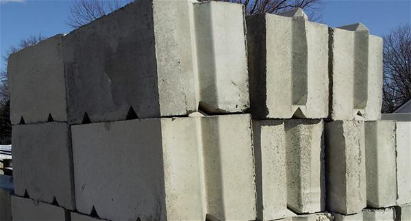 Smooth-faced blocks 2x2x4 photo.